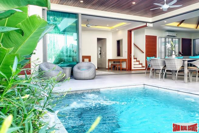 Three and Four Bedroom Pool Villas in New Rawai Development