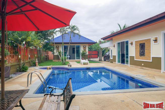 Four Bedroom Pool Villa with Guest Suite for Sale in Thalang