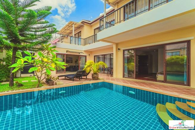 Three Bedroom Pool Villa in Quiet Residential Area near Laguna