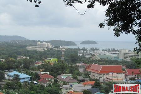 4+ Rai, Sea View Land in Karon