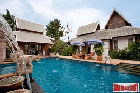 3 Bedroom 3 Bathroom Single Storey Villa Close To Pattaya Floating Market - East Pattaya