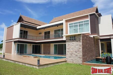 Three+ Bedroom Pool Villa with Large Garden in Chalong