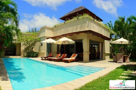The Residence Bang Tao Villa | Three-Bedroom Pool Villa with Roof Terrace for Holiday Rental