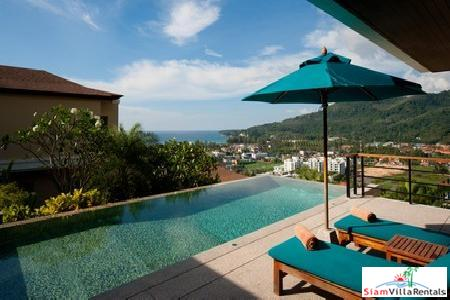 Sea View Two-Bedroom Pool Villa in Private Kamala Resort