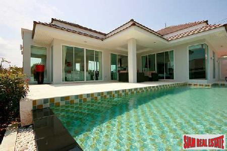 Newly Built Modern 3 bedroom Pool Villas for Sale in Hua Hin