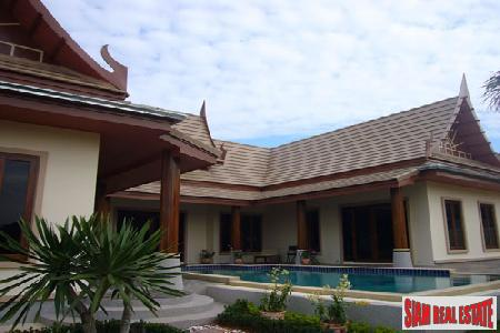 Newly Built Modern three bedroom Villas for Sale in Pranburi