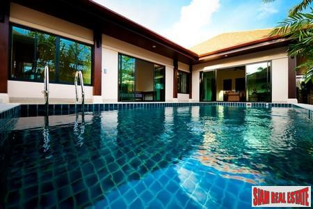 Modern-Balinese Two Bedroom Pool Villa in Rawai