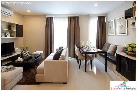 Villa Asoke | Luxury Large Two Bedroom Condo for Rent