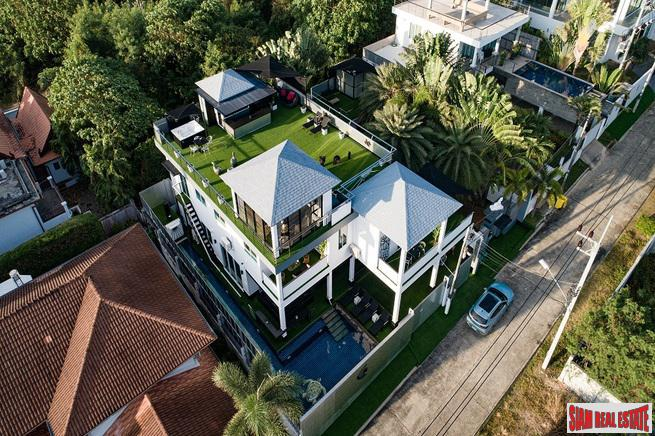 Modern Luxury Seven Bedroom House Includes Guest Bungalow in Sai Yuan, Rawai