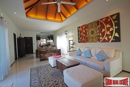 Three Bedroom Quality Villa in 8