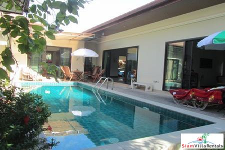 Serviced Three-Bedroom Pool Villa Available in Rawai