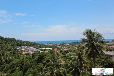 Kata Ocean View | Two Bedroom Sea View Condo for Rent in Kata Hillside Estate