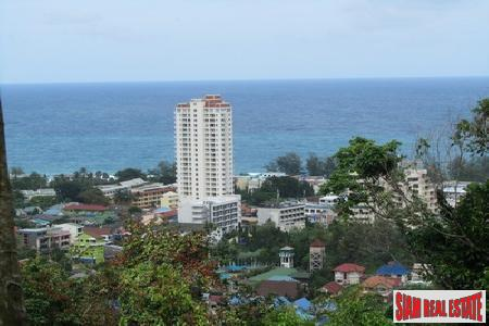 6+ Rai Sea View Land above Karon with views to Karon and Kata Noi beaches