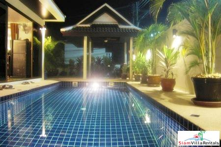 Three Bedroom Modern Thai-Balinese Pool Villa for Rent near Loch Palm