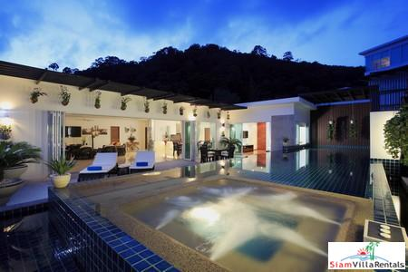 Private Luxury Three-Bedroom Pool Villa in Kamala Hills Resort