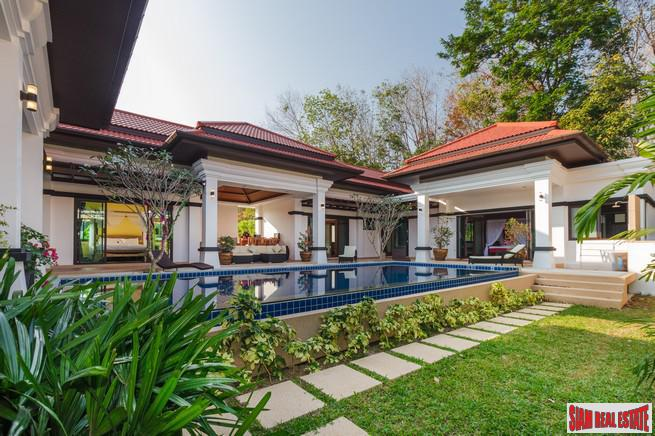 Jewels  Villa | Four-Bedroom Luxury Balinese Courtyard Pool Villa in Cherng Talay