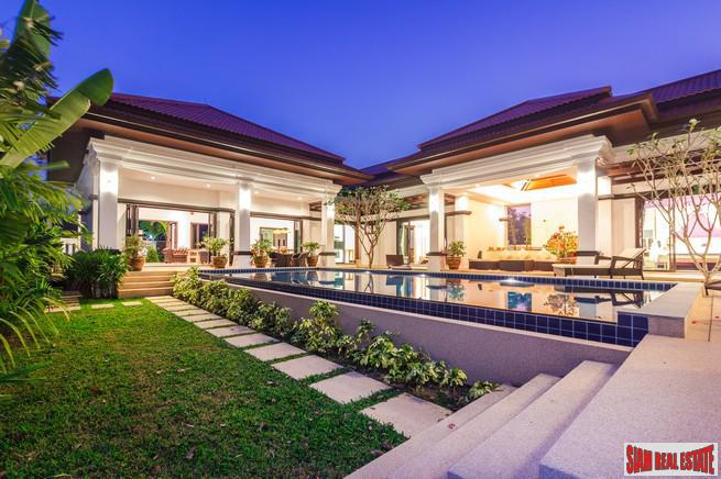 Four-Bedroom Luxury Balinese Courtyard Pool 2