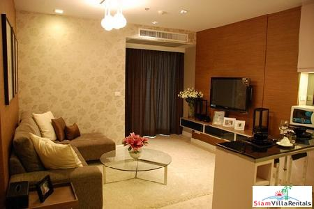 Two bedroom luxurious apartment in the heart of Ekamai, Nusasiri Grand Condo