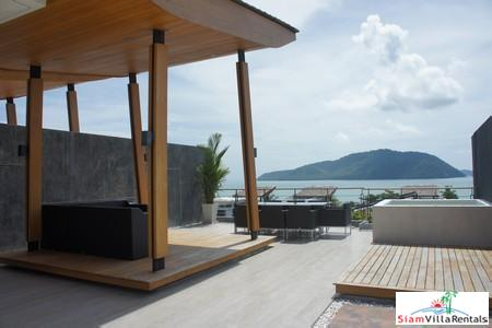 Luxury Four-Bedroom Sea-View Townhome in Rawai