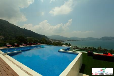 Sea-View One-Bedroom Apartment in Upscale North Patong Residence