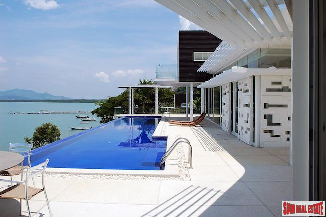 The Bay Yamu | Luxury Five Bedroom Modern Tropical Pool Villa for Sale