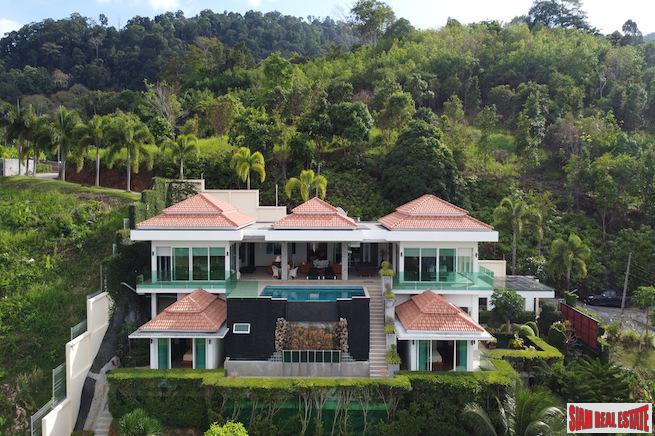 New, Luxury Sea-View Four+ Bedroom Pool Villa in Pa Klok