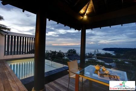 Luxury Three Bedroom Villa with Private Sea-View Plunge Pool in Surin