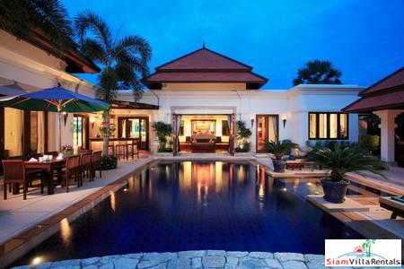 Four-Bedroom Luxury Balinese Courtyard Pool Villa in Bang Tao