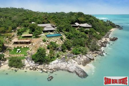 Private, Eight-Bedroom Beachfront Estate in Samui