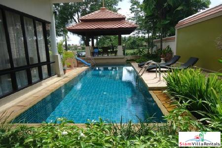 Lovely Four-Bedroom Thai-Modern Pool Villa in Laguna
