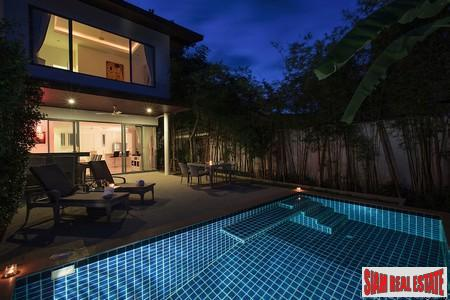 Three-bedroom private pool villa in 3