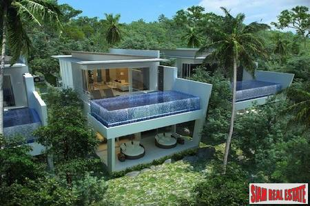 Koh Samui pool villas with stunning ocean views