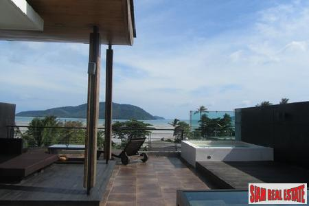Three-bedroom Rawai townhouse with sea views second to none