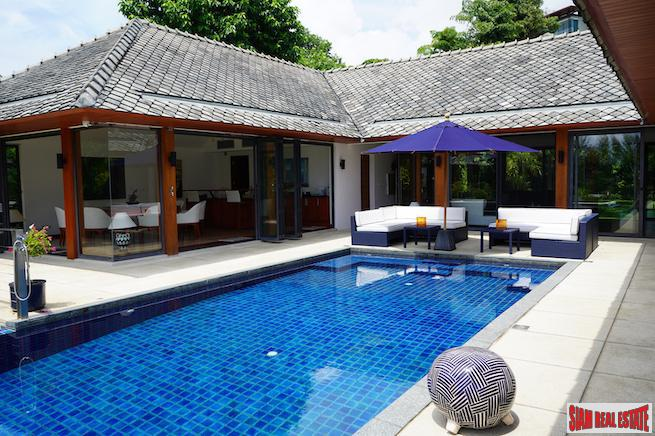 Luxury four-bedroom villa in Rawai with great outdoor entertaining area