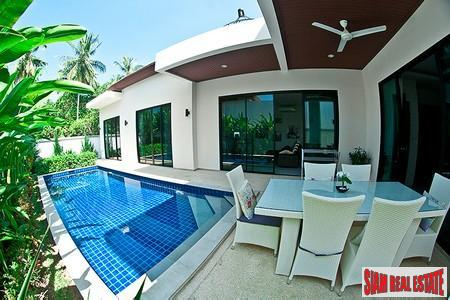 Modern three-bedroom villa in popular Rawai residential location